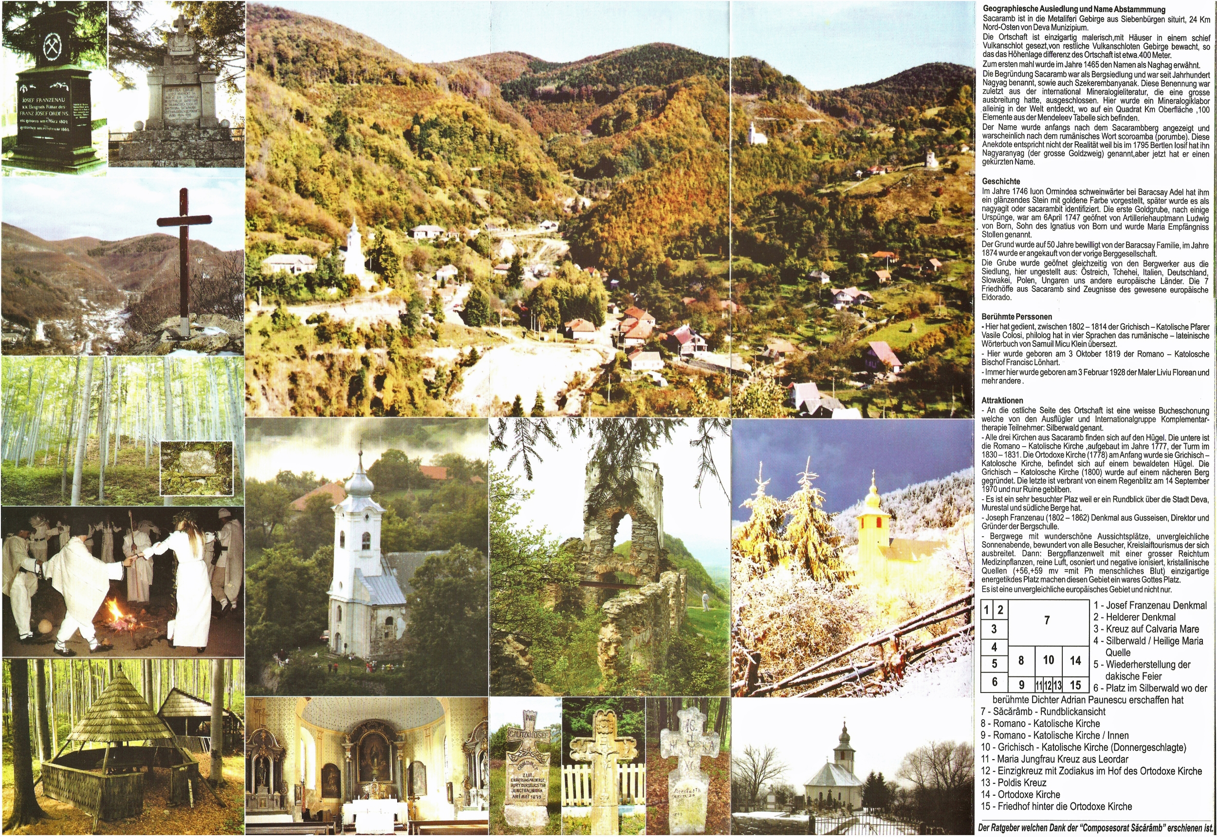 Im europäischen Eldorado - Certeju de Sus ... Sacaramb ... Hondol